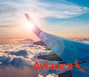 vuelos con/ Avianca